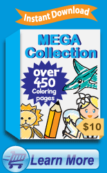 Coloring Printables Mega Collection