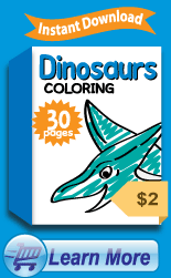 Premium Dinosaur Coloring Pages Collection